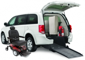 Power Wheelchair & Van Combo