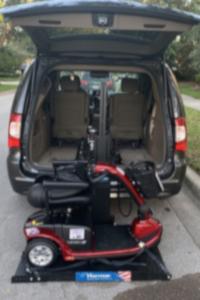Scooter Van