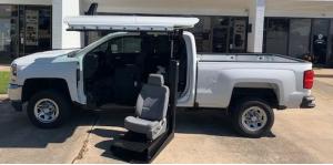 Luxury Crew Cab Gull Wing Pickup