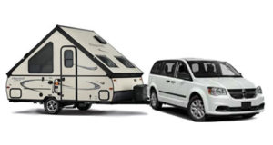 Minivan | 4 Person PopUp Trailer