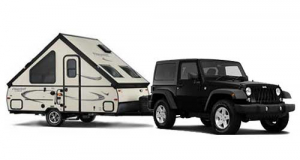 Jeep | 4 Person PopUp Trailer